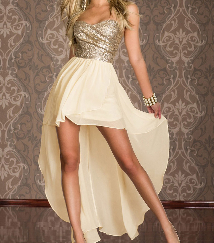 Bra Chest Wrapped Dress-656