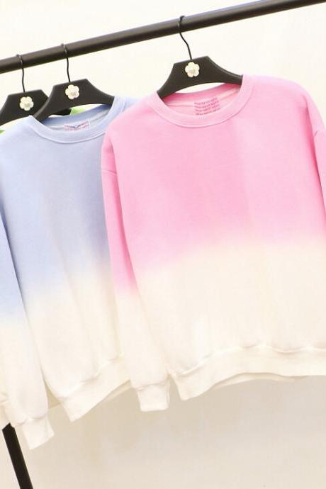 Fashion colorful long-sleeved pullover 5019942
